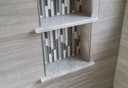 Recessed Tile Niches